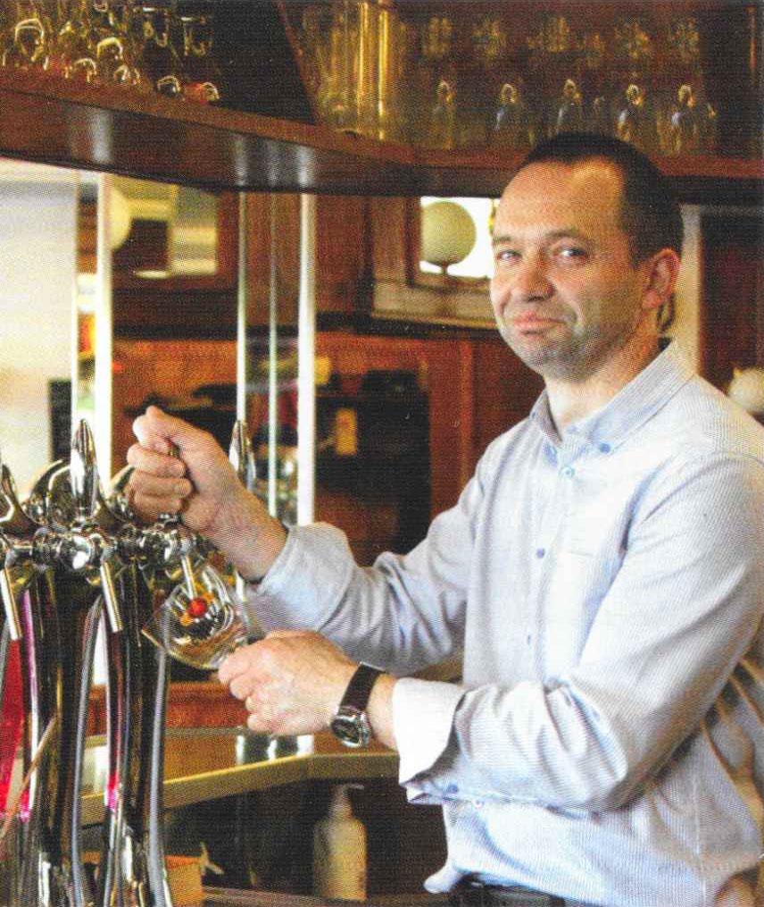 Olivier Renault, gérant de la Brasserie des Sports